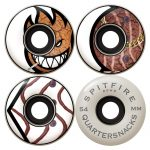 Photos des roues Spitfire quartersnacks HD 54 mm