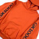 photo du sweatshirt gx1000 fish hoodie orange