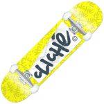 photo du skate complet cliché paper yellow
