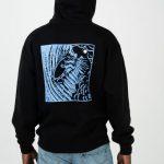 photo du sweatshirt polar shin hoodie black