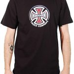 photo du tshirt independent logo black