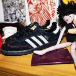 photo des chaussures adidas samba maïte