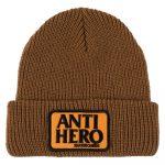 photo du bonnet antihero patch reserve brown