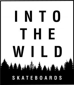 Photo du logo into the wild skateboards