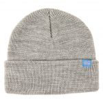 photo du bonnet krooked clip heather grey