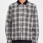 Photo de la chemise Louie Lopez flanel shirt black white