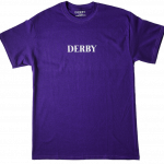 Photo du Tshirt derby go logo purple