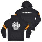 Photo du hoodie independent background hood black