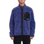 photo de la veste volcom muzzer fuzzar zip print